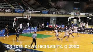 EDEN DAVIS HIGHLIGHTS: DOVER VS VALLEY FORGE MILITARY ACADEMY