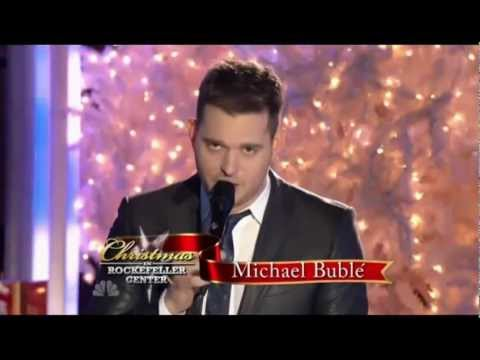 "Michael Buble w/ Graham Dechter ""I'll Be Home For Christmas"" (Live at Rockefeller Center)"