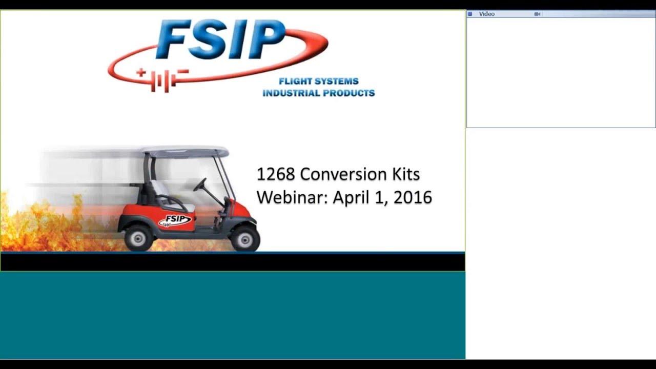 Golf Cart Conversion Kit Webinar Youtube 48 Volt Rxv Ezgo Wiring Diagram