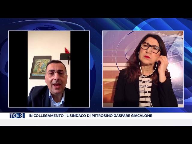 COLLEGAMENTO CON IL SINDACO DI PETROSINO GASPARE GIACALONE
