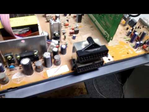 ремонт телевизора samsung cs-29z30spq шасси S62B перезагружается
