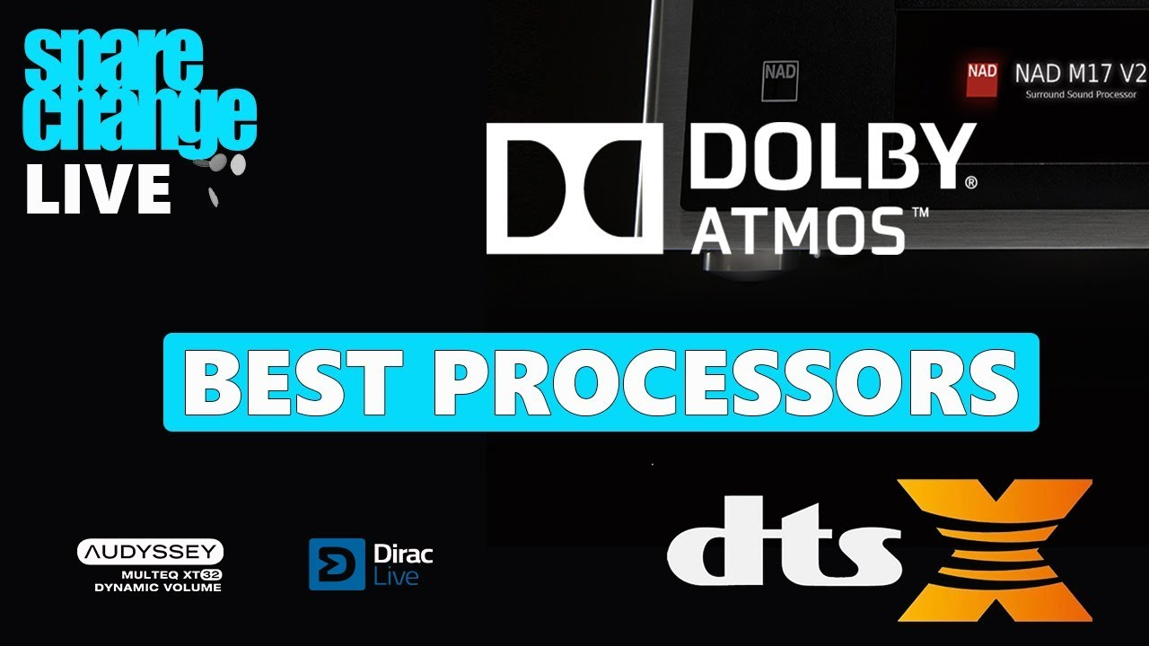 BEST ATMOS / DTS-X Home Theater Processors | Sunday April 28th 2019