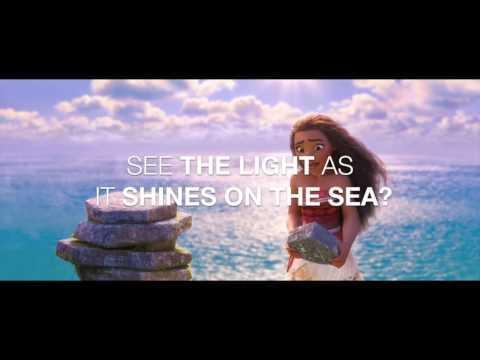 HOW FAR I'LL GO (LYRICS) - MOANA