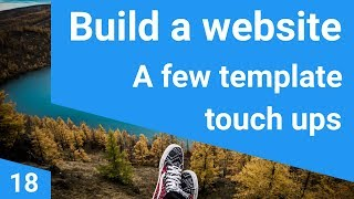 Build a responsive website tutorial 18 - updating the custom theme