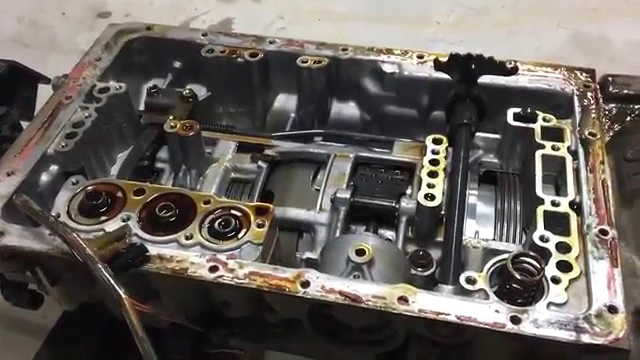 2002 Toyota Tundra Wiring Diagram Toyota A340 A341 Valve Body Removal Part 2 Youtube