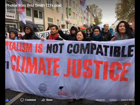Brid Smith TD on DriveTime radio 13.11.17 re COP23 environment conferance