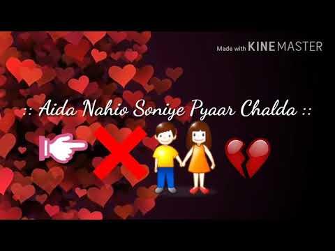 Narazgi Panjabi Song Very Sad Video [For Whatsapp Status]