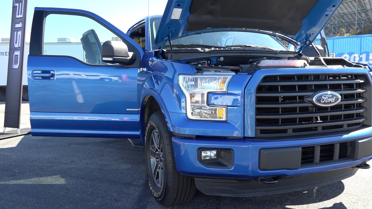 2015 ford f150 2 7l ecoboost v6 twin turbo youtube. Black Bedroom Furniture Sets. Home Design Ideas