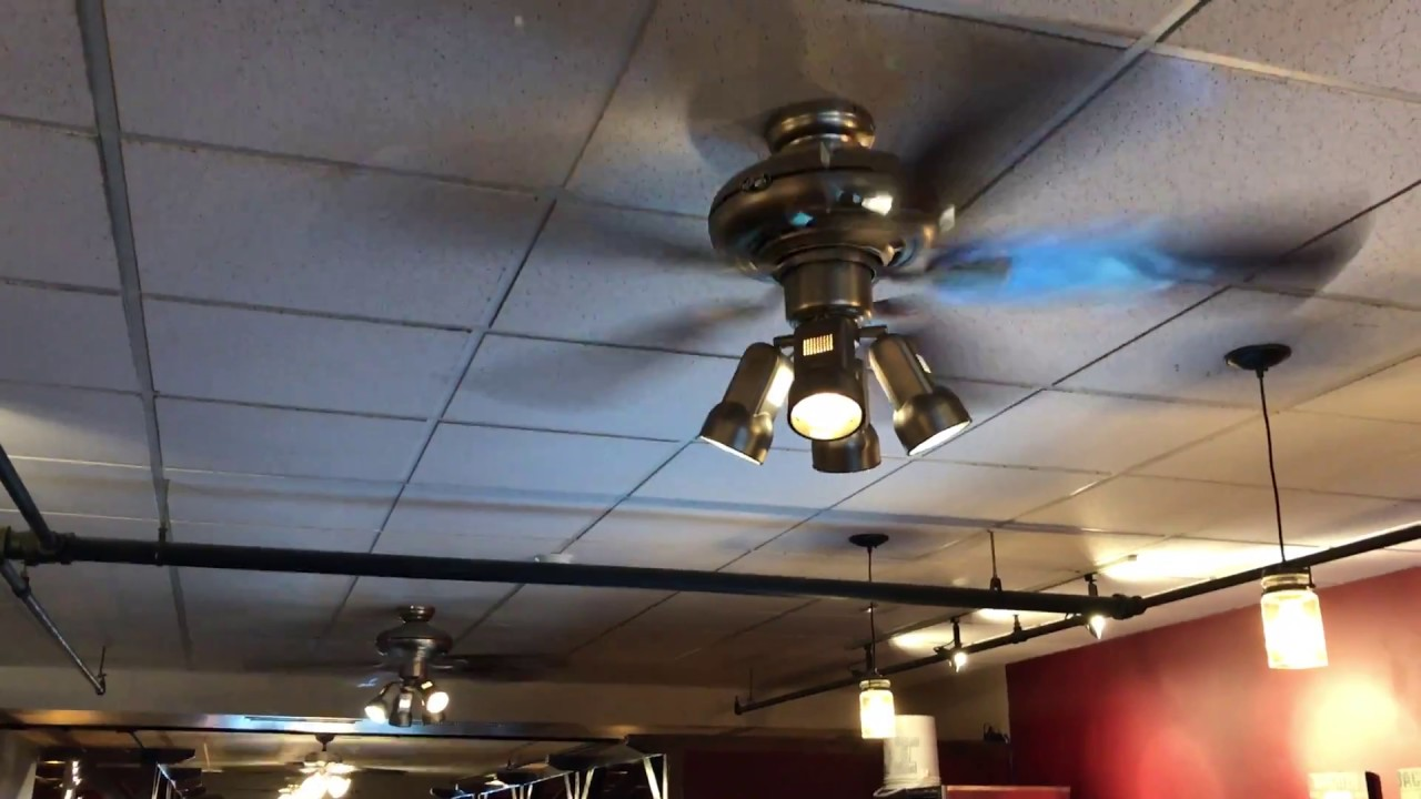 Hampton Bay Redington Iii And Hunter Meridale Ceiling Fans