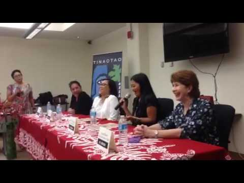 Women in Journalism Forum at the Guam Community College