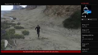 GTA 5 online -just going to mess around Part 2 road to 2k subs