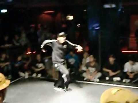 20121121UNION HIPHOP BATTLE Vol 14BEST8 gash!(WIN) vs MITSUO