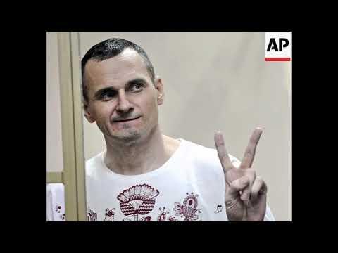 STILL of Oleg Sentsov, winner of 2018 Sakharov Prize