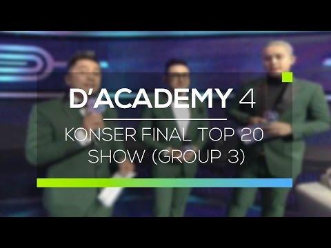 Highlight D'Academy 4 - Konser Final Top 20 Show (Group 3)