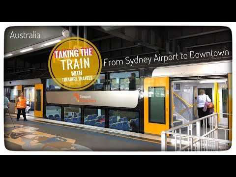 Train From Sydney Airport To Downtown Sydney