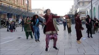 first international Bollywood flashmob BARI ITALY