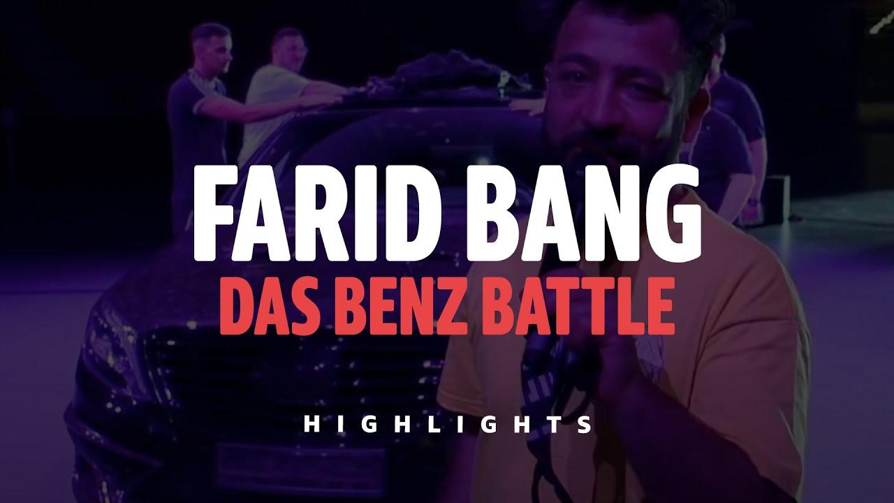 FARID BANG - 🚗 DAS BENZ BATLLE 🚗😱 [Farid Bang - Das Mega-Event Highlights]
