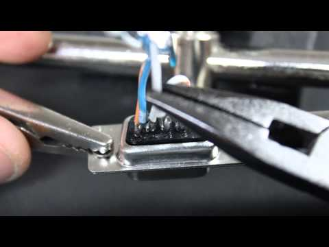 Soldering Delphi Serial Connectors