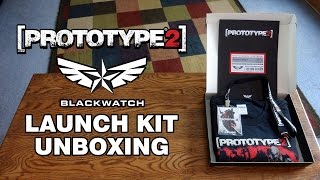 Prototype 2 Blackwatch Employee Launch Kit Unboxing & Review - HD 1080p