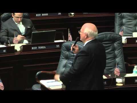 Representative Dennis Baxley's Session Tube Highlights