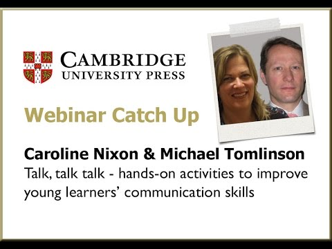 Activities to improve young learners' communication - Caroline Nixon and Michael Tomlinson