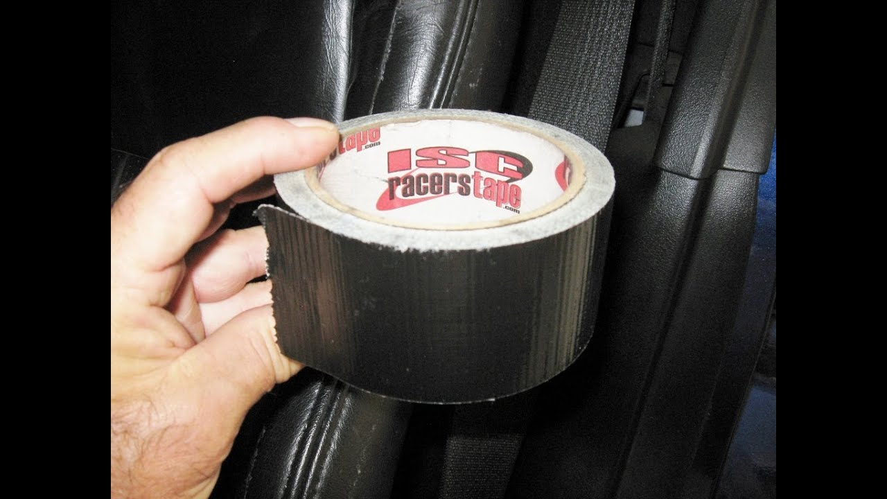 corvette seat tape up to prevent wear by froggy protect leather youtube. Black Bedroom Furniture Sets. Home Design Ideas