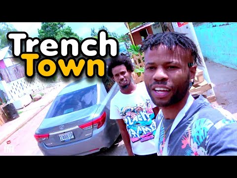JAMAICA GOOD LIFE - EP553 - TrenchTown In Kingston, Jamaica Home Of Bob Marley Welcome Home Kino Pt1