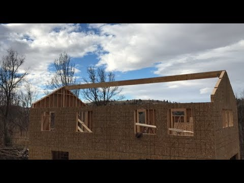DIY Home Build: Permit Issues And 40' Ridge Beam...
