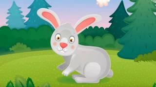 Лесные животные для детей. Голоса животных. Изучение животных. Развивающие мультфильмы для детей