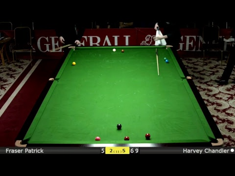 Snooker Men 1/2 Final : Fraser Patrick vs Harvey Chandler