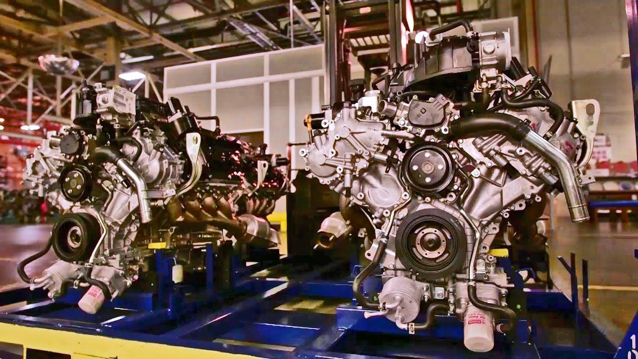 Nissan Powertrain Assembly Plant Titan V8 Engine Youtube
