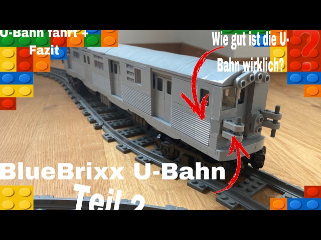 Bluebrixx U-Bahn Teil 2 /so gut ist die U-Bahn wirklich /U-Bahn fahrt + mein Fazit