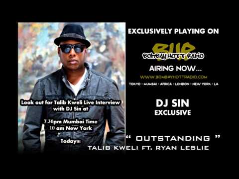 Talib Kweli interview with DJ Sin on Bombay Hott Radio - 2nd Nov 2012