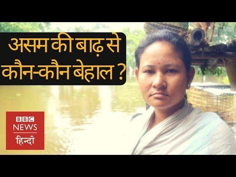 Assam Floods से क्या-क्या हुई तबाही? (BBC Hindi)