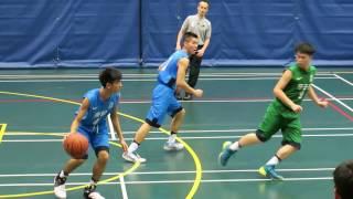 邱子田vs青松(2016.12.16.學界籃球精英賽第一階段男子分組賽)精華