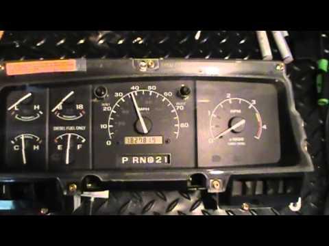 Ford PSOM speedometer repair service for F series trucks