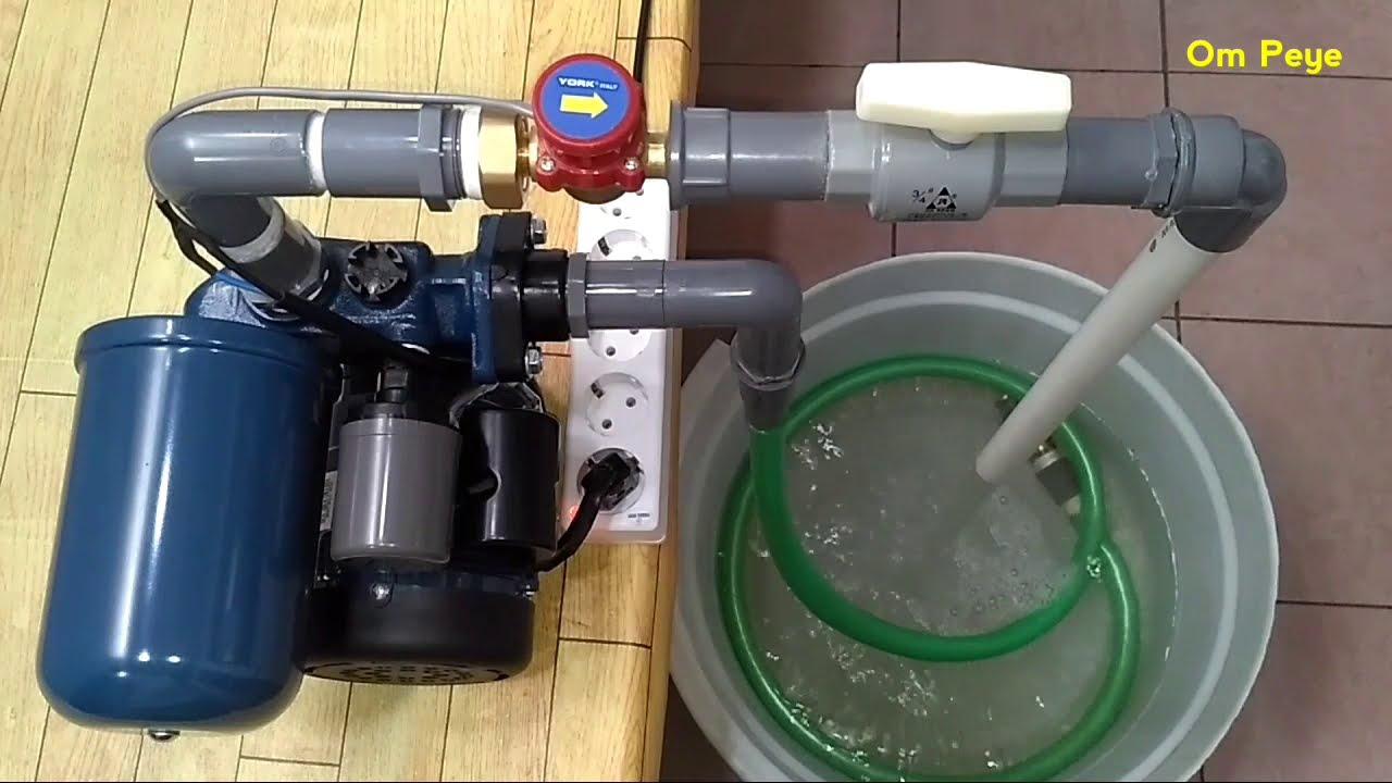 Kombinasi Flow Switch Pressure Switch Atasi Pompa On Off Youtube