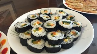 Kimbap (aka Gimbap) - Korean Dish Recipe
