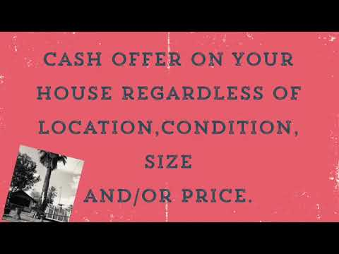 All Cash Offer On Your House