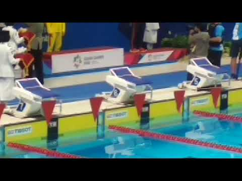 Sun Yang's victory ceremony as flag incident-Asian Games 2018 Jakarta