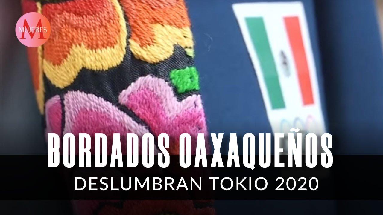 ¡Artesanales! Estos son los trajes de gala de los atletas mexicanos en Tokio