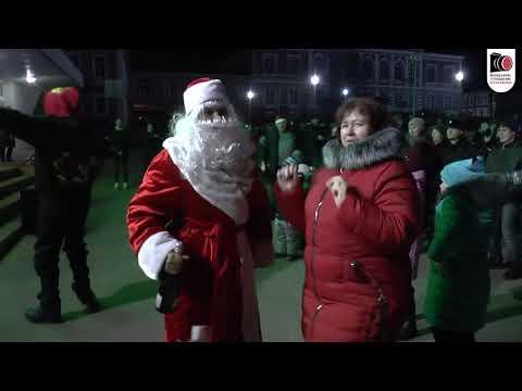 Новый год на центральной площади города Серафимович.