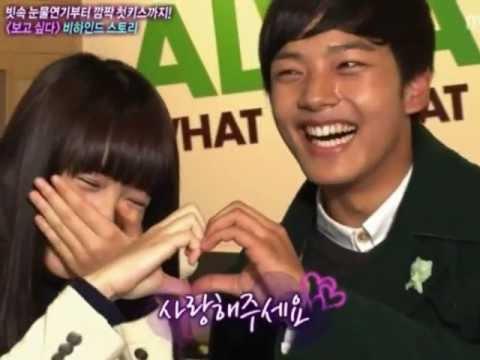Yeo Jin Goo - Kim So Hyun cute moments (IMY, Awards, Interview)