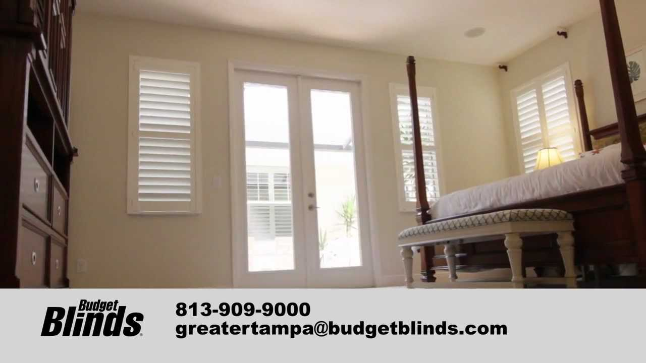 budget blinds charlotte nc osterwede plantation shutters by budget blinds tampa youtube