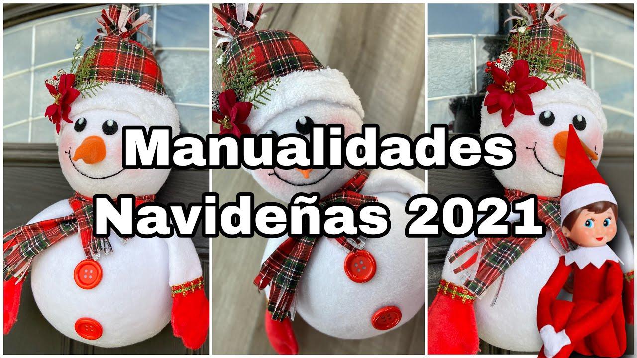 Manualidades NAVIDEÑAS 2021/Decoração De NATAL/Christmas DIY Decorations/Faça e Venda Artesanato
