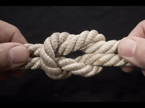 How to Make 15 Basic Rope Knots (720p)