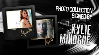 Kylie Minogue Collection of Signed Photos