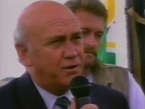 Bernard Shaw and Mike Hanna discuss election [1994]