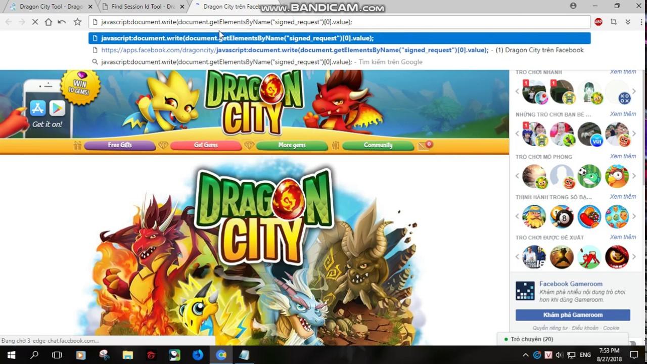 Hack Dragon City mới nhất 2019 bằng ditlep com   Dragon City
