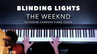 The Weeknd - Blinding Lights (HQ piano cover)